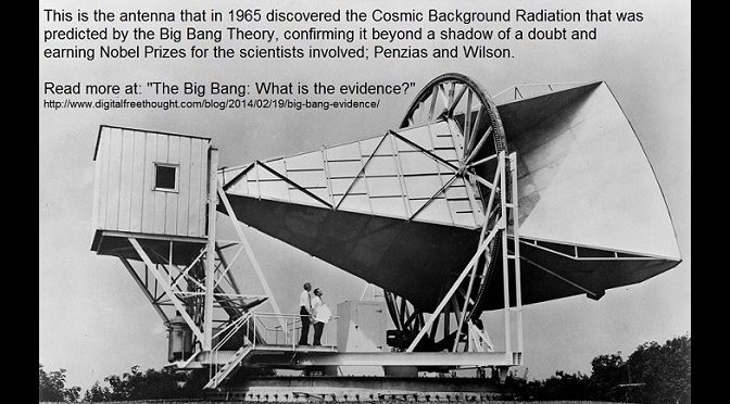 The Big Bang: What is the evidence?