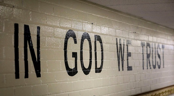 "On ""In God We Trust"" in schools"